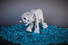 Chibi AT-ACT (adde51) Tags: adde51 lego moc starwars star wars atat walker rogueone rogue one chibi chibistyle style water imperial atact act