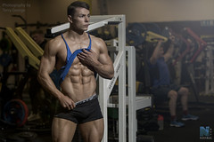 Elliot Robinson NFM (TerryGeorge.) Tags: natural fitness models abs six pack workout toned athletic muscle shirtless