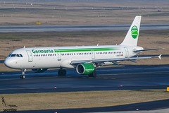 Germania / D-ASTP / Airbus A321 / EDDL-DUS / © (RVA Aviation Photography (Robin Van Acker)) Tags: planes trafic airlines avgeek airliner outdoor airplane aircraft vehicle jetliner jet jumbo air photography aviation avitionphotography düddeldorf airport