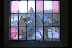 Stained glass of the Doorwerth Castle (B℮n) Tags: coif capful walking hiking forest arnhem veluwezoom anno1206 dorenweerd family impresive history snow winter uiterwaarden rijn musea stained glass glasinlood doorwerth castle rhine river kasteel footpath floodplains anno 1206 oudste acacia robinia oldest tree 1600 trunk 100faves topf100