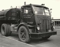 1940's White COE (PAcarhauler) Tags: white coe cabover semi truck trailer tractor