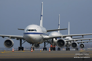 Stored Airbus A310's