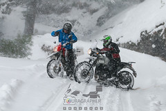 Dhairya starts to Skid & advice is not far away – Courtesy Shelly (touragrapher) Tags: 70200 canon70200 canon70d dharali harshil heroimpulse himalayas himalyan offroader royalenfield sigma30mm snow snowstorm2017 snowstorm uttarkhashi uttrakhand uttrakhandtourism whereeaglesdare yamahawr450f remotestcorners tourer