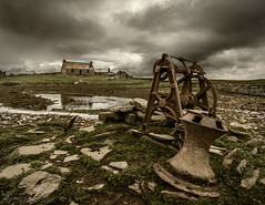 Rust to Rust (EXPLORED) (SkyeWeasel) Tags: scotland orkney ruins abandoned capstan landscape