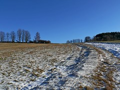 Winterlandschaft (tomlok) Tags: зимний пейзаж paysagedhiver winter landscape winterlandschaft himmel wolkenlos