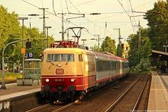 DB 103 113 am 05.06.2014 mit dem IC 118 in Recklinghausen Hbf (Eisenbahner101) Tags: eisenbahner101 db dbfernverkehr br103 103113 e03 öbb ic intercity ic118 train deutschland germany nrw recklinghausen rollbahn