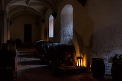 Henry VIII's Wine Cellar (James Waghorn) Tags: hamptoncourt spring shadows d7100 topazclarity palace cellar barrels wine henryviii england historic sigma1750f28exdcoshsm