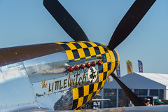 DSC00340 (pdebree) Tags: airshow plane airplane aircraft aeroplane flight fly flying flown flew flies mustang p51 p51d p51mustang p51dmustang prop propeller