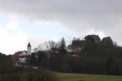 Veste Otzberg (ivlys) Tags: odenwald hering dorf village vesteotzberg kirche church stmarien katholisch catholic landschaft landscape nature sturm storm windig windy ivlys