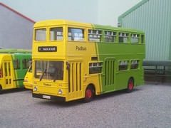 The final Fleetline (quicksilver coaches) Tags: leyland fleetline northerncounties padbus dinkytoys 176 oo diecast model code3