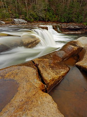 High Falls: Pools and falls (Shahid Durrani) Tags: high falls monongahela national forest cheat river west virginia