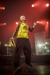 Amsterdam, The Netherlands  -16 April 2017: concert of Bosnian rock music band Dubioza Kolektiv at venue Melkweg -22 (CloudMineAmsterdam) Tags: dubiozakolektivmelkwegamsterdam amsterdam artists band concert concertlights crowd editorial electricguitar entertainment europe event gathering rock dub leisure lights loud music musician netherlands holland party people performance show singer vocals cheering audience happysmile fun hiphopreggae stage