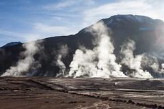 Geysers El Tatio (Flo Guichard) Tags: volcano chile atacama desert travel landscape photography geysers el tatio steam backlight sunrise mountains altitude canon