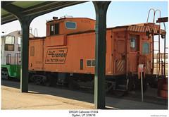 DRGW Caboose 01504 (Robert W. Thomson) Tags: drgw denverandriograndewestern riogrande caboose cab cabincar hack traincar railcar rollingstock train trains railroad railway ogden utah