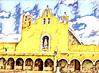 Izamal, Yucatán (sftrajan) Tags: izamal yucatán mexico edited monastery conventodeizamal church yellow colonial templu arquitectura iglesia amarillo édité editado