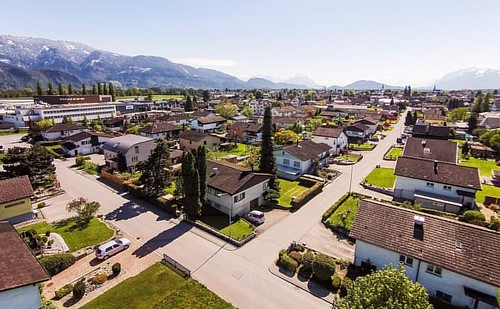 random kaff #diepoldsau #diepoldsauschmitter #switzerland #kaff #home #spring #birdview #drone #dji #fmh
