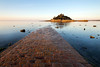 Causeway to St Michael's Mount, Cornwall (Andrew Hocking Photography) Tags: stmichaelsmount mount marrazion cornwalll kernow outdoor landscape magical dreamscape summer sunshine nautical marine mythology path leadin wideangle cobbles cobble stones