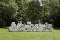Front_2 (artfridge) Tags: vorort ort sennestadt kunst christianfalsnaes falsnaes front kunstprojekt bielefeld performance artfridge artfridgede painting