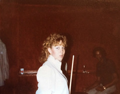 Pool Hall (~ Lone Wadi ~) Tags: poolhall billiards poolroom interracial nighttime lostphoto retro 1980s unknown