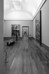 It's a long long way to Caravaggio (louys:) Tags: monochrome blackandwhite fuji xt1 xf14mmf28r wideangle primelens artwork museum artgallery caravaggio museodicapodimonte dof