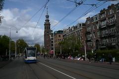 Koningsdag 2017; lijn 9, Linnaeusstraat (Railfan5569) Tags: tram amsterdam gvb