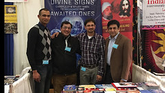 Activities: Our Message Inspires Thousands at the New Life Expo, NY! (Mehdi/Messiah Foundation International) Tags: spirituality healing astralprojection message teachings divinesigns aromatherapy newyork nyc leaflets expo community philosophy moon imammehdi messiah jesuschrist literature