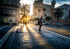 On Hollywood Blvd (tritranla) Tags: losangeles artistic california candid city hollywood mirrorless olympus people streetphotography urban