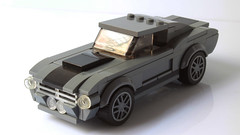 Lego Ford Mustang Shelby GT500 (hachiroku24) Tags: lego ford mustang shelby gt500 moc afol instructions