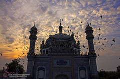 Sachal Sarmast. (S.M.Rafiq) Tags: sachalsarmast khairpur sindh daraza pakistan smrafiq sunset