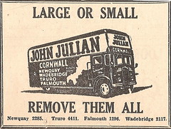 1966 ad. (Sidmouth Ian) Tags: johnjulian removals removers