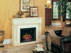 Kominek elektryczny Classic Flame - Gossamer