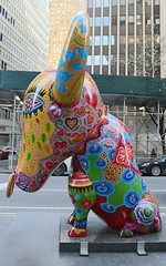 . (SA_Steve) Tags: afancyanimalcarnival hungyin nyc garmentdistrict taiwanese animal art sculpture newyorkcity manhattan publicart colorful multicolored multicoloured colors colours