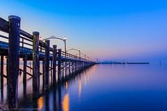 Shades of Purple (michaelsabijon) Tags: sunset landscape white rock purple docks beautfulbritishcolumbia canada canoncanada hdr 3xp