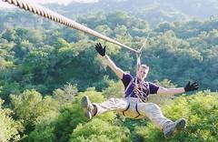 Zipline-in-Rishikesh (krishnaholidaysrishikesh) Tags: zipline flyingfox bungeejumping