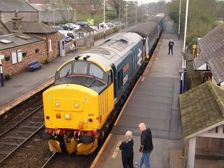 37424 at St Bees 2C47 1731 Barrow - Carlisle 28/03/17.