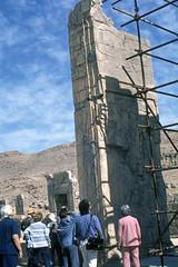 Found Photo - Iran - Persepolis - Archeological Site 09.tif (David Pirmann) Tags: iran ruins archeology persia persian unesco worldheritage xerxes parsa takhtejamshid achaemenid dpfoundphotoasia1976 persepolis