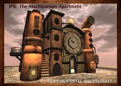 **JPK The Machinarium Apartment (hekirekika2017) Tags: secondlife machinarium steampunk dieselpunk jpk