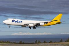 N851GT Boeing 747-87UF SCD Polar Air Cargo(DHL) Anchorage 070516 (PrestwickAviationPhotography) Tags: aircraft avgeek aviation av8 anc anchorage alaska boeing 747 boeing747 prestwickaviationphotography planes photography panc polaraircargo