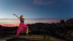Sunrise Joshua Tree National Park (Kent Freeman) Tags: usm l f4 ef1740mm iii mark 5d eos canon sun sunrise vachon de marine park national tree joshua ballet urban