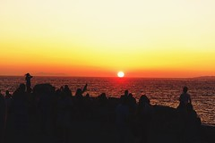 #sunset #katomili #windmillsofkatomili #windmills #mykonos #greece #Μύκονος #卡特米利風車 #五風車 #米克諾斯 #希臘 (Mg Lin) Tags: