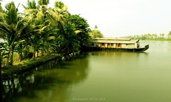 Sail Rest (Shrayansh Faria Photography) Tags: houseboats boat waters backwaters tropical coconut trees sky