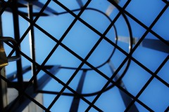 IMG_3482 (taladlersberg) Tags: architcture abstract lines sky blue lock