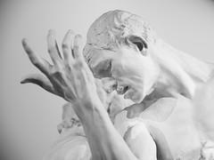 Rodin, The Burghers of Calais (Centennial exhibition at the Grand Palais museum in Paris) (fcafca) Tags: sony alpha7 a7 jupiter9 sonnar russianlens portraitlens manuallens 85mm f2 kmz m39 l39 zorki street rawtherapee paris rodin sculpture centennial centenaire grandpalais burghersofcalais bourgeoisdecalais