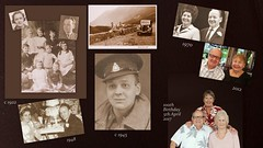 Then and now (Gillian Everett) Tags: vic 100th 5thapril 1917 2017 queensland england barbara grace gill 100years memories