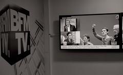 _DSF3752 copie (sergedignazio) Tags: france paris fuji xpro2 nathalie arthaud jeanjacques bourdin bfm élection présidentielle émission entretien dembauche