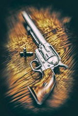 Hellfire Peacemaker (TheOtherPerspective78) Tags: peacemaker gun pistol western wildwest wynonnaearp gunslinger fire flames colt 45 cavalry frontier america gunfighter shooter revenant outlaw sheriff ranger theotherperspective78 canon ef5014 bullets 1873 saa modelp m1873 coltsingleactionarmy americana sixshooter cartridge