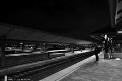 alone (Lenny Lloyd da Silva) Tags: train urbancityofangels unionstation urbandowntown cityofangels cityscene nightscene nightphotography night