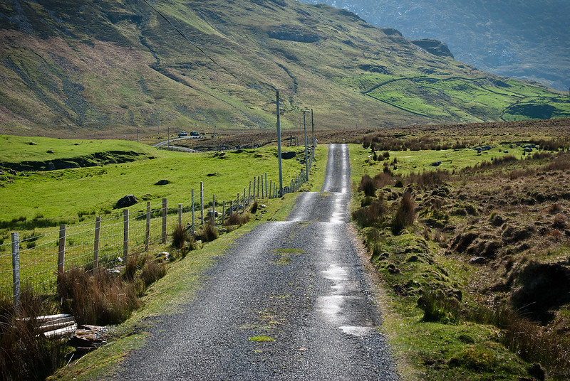 Connemara roads
