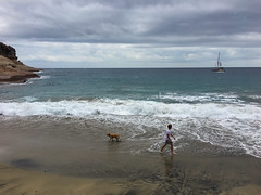 El Puertito nach Räumung (drloewe) Tags: teneriffa tenerife elpuertito natur strand playa labrador