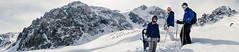 Alex, Jay and Matt (www.mattprior.co.uk) Tags: green adventure adventurer explorer explorersclub explorersclubhk expedition ski snow mountains mountain centralasia asia kazakhstan snowboard offpiste snowshoe sun cold winter exped journey mattprior